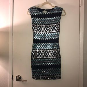 As you wish sequence dress